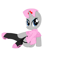 Nurse Pony Base 1 by SnuggleBunny92