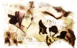 Soi Fon - Determination by WilliaM-DN