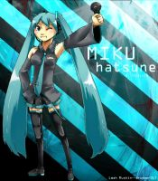 Miku :D by drummer017