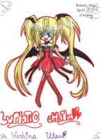 Lunatic Charm Shugo Chara by MikiArtSpadeMagic