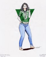 NFL Pin Up- Eagles by ImfamousE