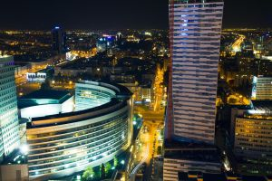 Warsaw by night_6_8 by papagall