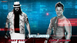 #WWEBattleground - Bray Wyatt vs. Chris Jericho by MarcusMarcel