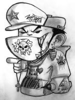 cartoon BBoy by MrShanTwo