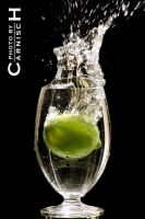 Splashing Lime n.1 by Carnisch
