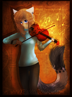 Soul of a Violin by XBlackIce