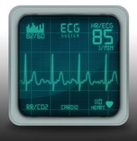 ECG iOS Icon by TobiaCrivellari
