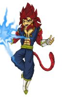 SSJ4 Vegetto by daunted