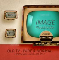 Old TV - Wide n Normal by cothinkers