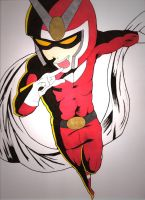 Viewtiful Joe Colored by Anubis84