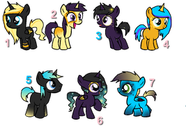 Foal Adopts {Open} by pokebugggirl