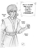 Zuko, loser at Burning Earth by BanishedPrince