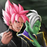 Dragon Ball Super-Tyrant Gods by gscratcher