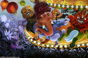 Deity-Go-Round by MuralsWithoutBorders