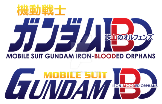 Traditional Gundam Logo for Iron-Blooded Orphans by TRice01