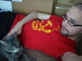 Phoebe Cat and Communism by Dysthymia83