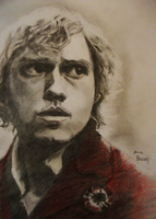 Red and Black - Enjolras by MsArtrageous