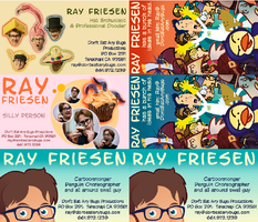 Ray's New Business Cards by raisegrate