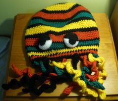 rasta jellyfish hat by marcsandroid