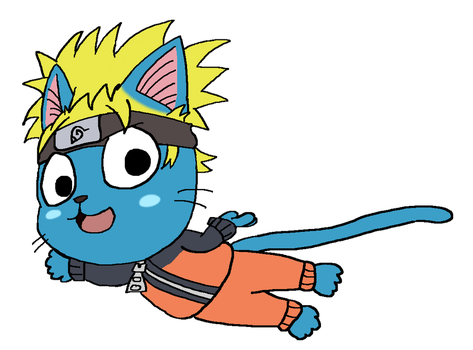 Happy as Naruto [Sticker] by SinkCandyCentral