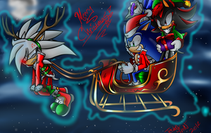 Happy Holidays and Have a merry Christmas too by Tron-Silver