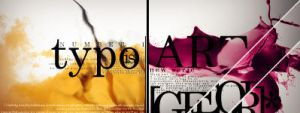 Typo is art - No. 1 by georgfx
