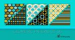 Geometric Patterns Set 06 by noema-13