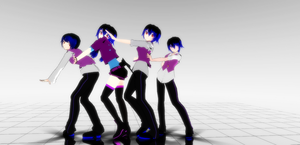 MMD Replica Pokerface by replica-luna