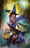 Jolly Halloween 2014 _v2 by CrisDelaraArt