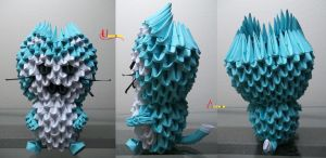 3D Origami - Puar by Jobe3DO