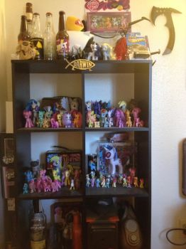 My current pony collection by yagyag