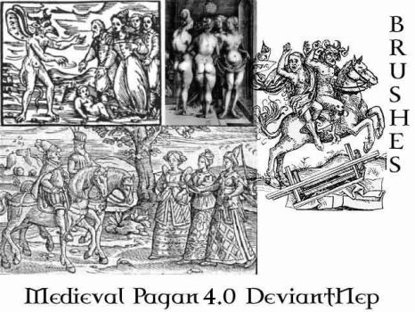 Pagan Medieval Brushes 4.0 by DeviantNep