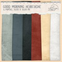 Good Morning Heartache paper pack by Eijaite