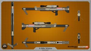X-98e Widow by rex3cutor
