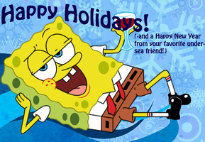 Spongy Holiday by Gazpatcho