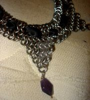 Chainmaille Necklace by imaginary-figment