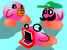 Kirbys of the Internet by TheVinnler