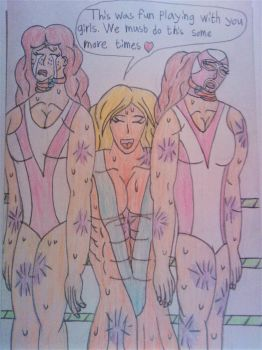 (Request) Trish vs The Rosenfeld twins by Tobbe-Totte