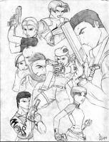 Resident Evil Collage by Ari-Spike-Nadelman