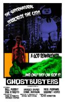 Ghostbusters B-Movie Poster by Karlika