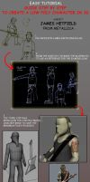 3d low character  tutorial by cavalars
