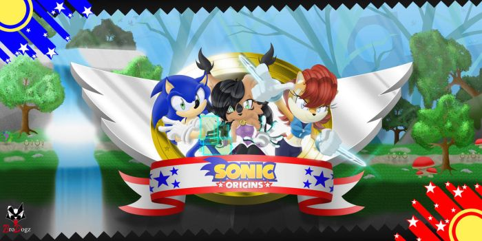 Commission: Sonic Sally Nicole - Sonic Origins by BroDogz
