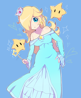 Rosalina and Luma by Flutterpaws