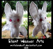Spriggan .:Prototype Plushie also known as Floof:. by MortaleRedWolf