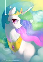 Princess series - Celestia by amy30535