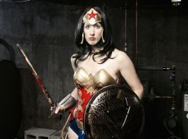 Wonder Woman Warrior by cosplaynut