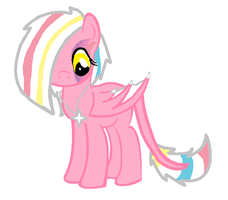 Custom Daemon Pony for- Sketchypony123 by iPandacakes
