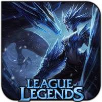 League of Legends Ice Drake Shyvana by griddark