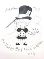 Mad Hatter Lisa is Back!!! by komi114