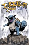 Inktober 2016 Sketch Cover: Squirtle Squad by Shono